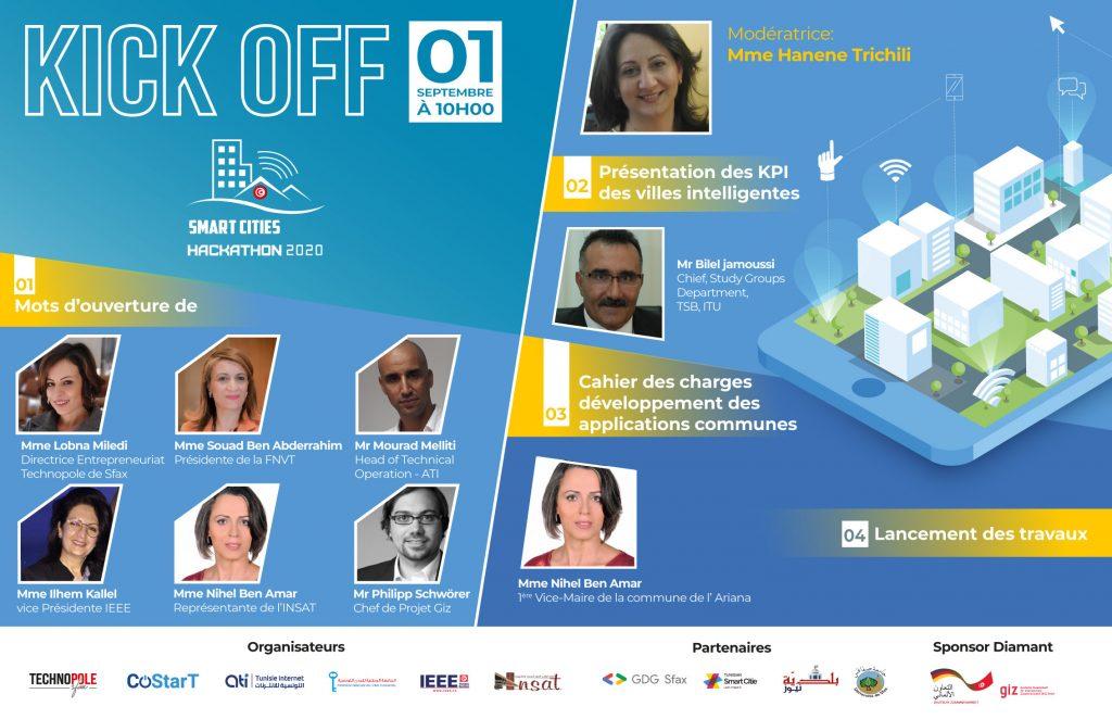 Kick Off Hackathon Smart Cities 2020