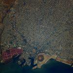 Sfax, vue par Thomas Pesquet depuis l'espace